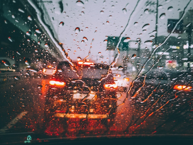 avoid hydroplaning while driving
